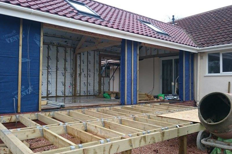 Bifold door installation process