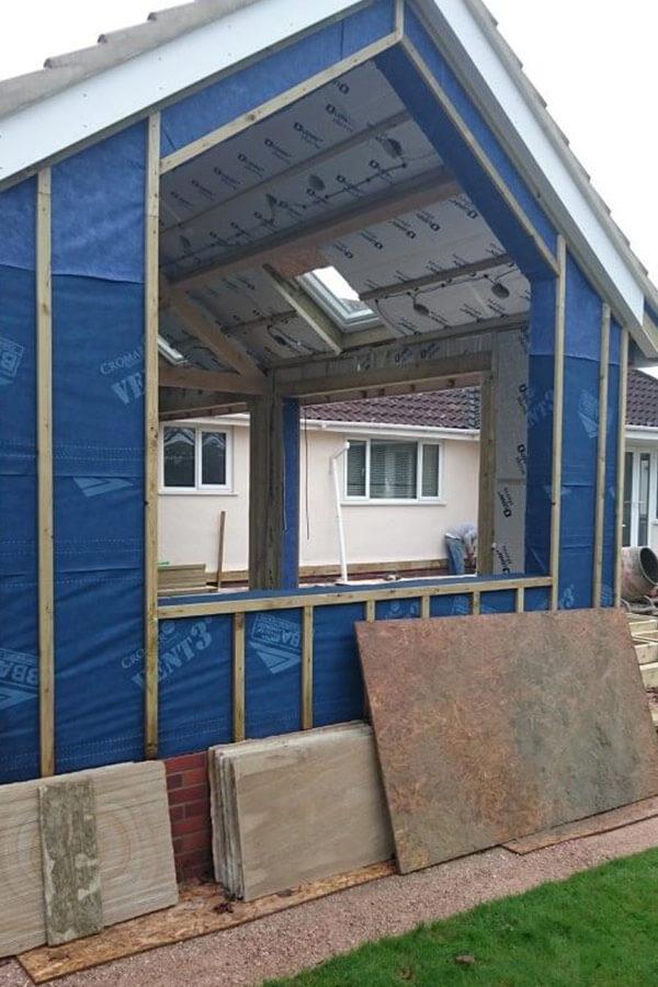 Casement window installation process