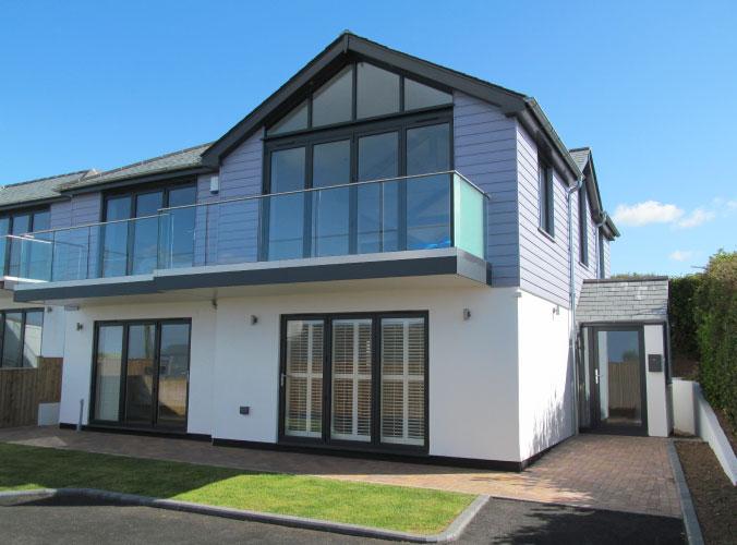 Premium glazed windows and doors for Bigbury project