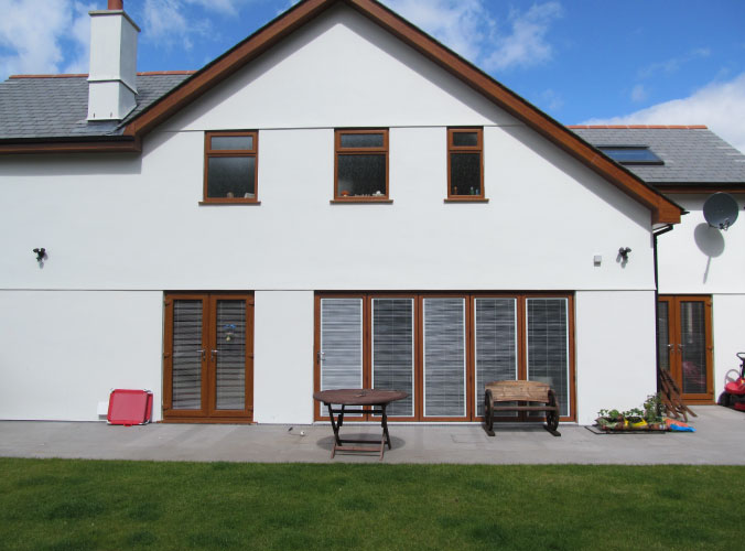 Double glazed window and door replacement for Buckley project