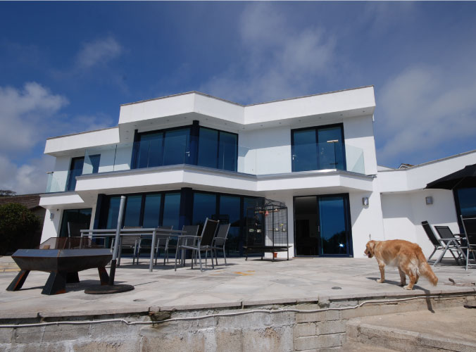 Suncliffe project with high spec aluminium windows and doors