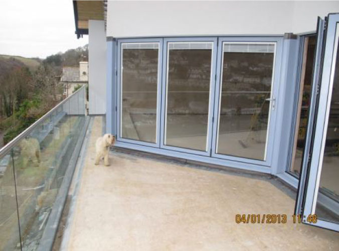 New patio door for Tansley project