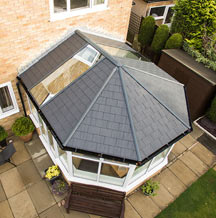 Tiled replacement conservatory roof
